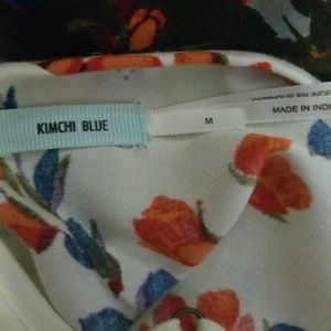 Kimchi Blue Tops - Flowey, floral crop tank top